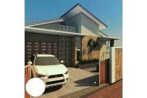 tanah ideal untuk villa FREE desain gambarnya di jalan damai sleman