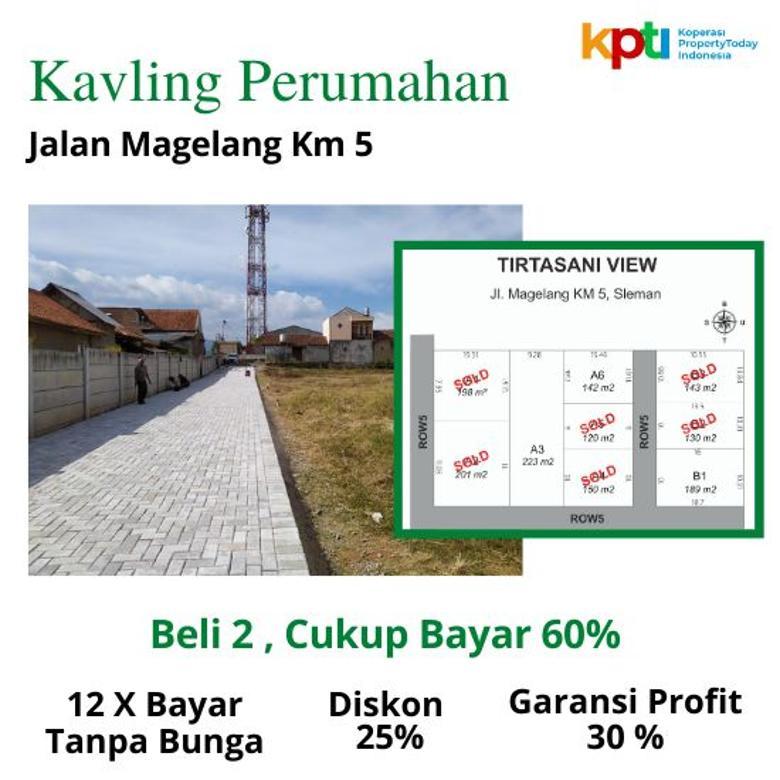 Tanah MURAH Dekat JCM Mall Spesial Price Diskon 25%