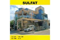 Rumah Hook 3 Lantai Luas 144 di Sulfat Pandanwangi kota Malang _ 177A