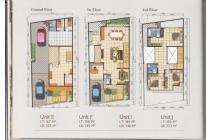 Rumah Baru Town House 2,5 lantai di Ampera - Jakarta Selatan