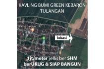 Tanah Kavling Tulangan Bumi Green Kebaron Sidoarjo