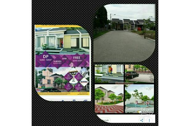 Rp765jt Rumah Dijual