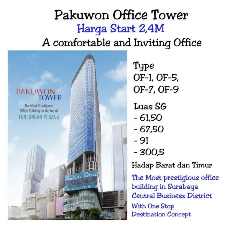 Pakuwon Office Tower Embong Malang Kedungdoro Tegalsari
