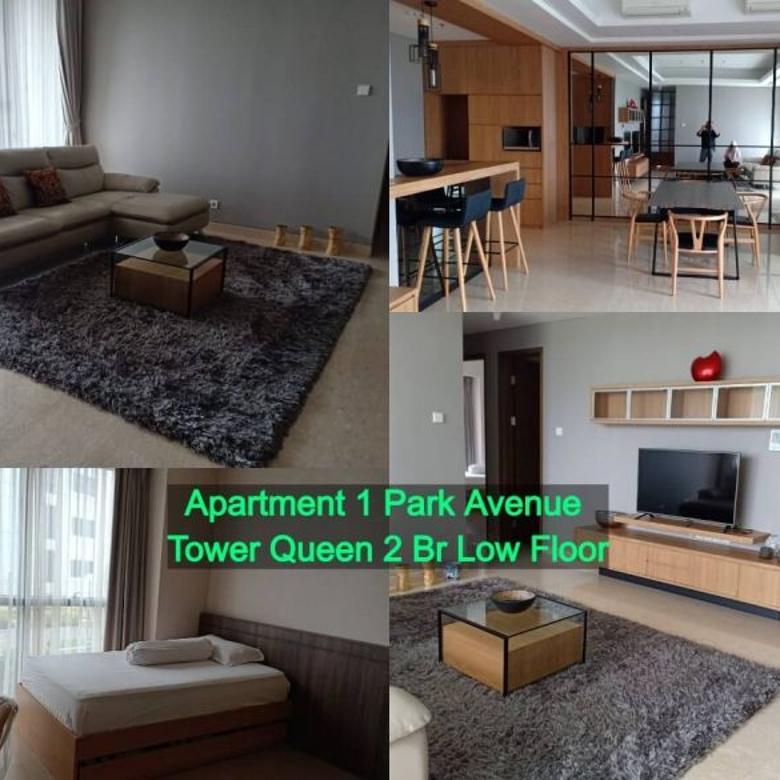 Dijual apartment 1 park avenue tower queen 2br Rp. 4.6 Milyar
