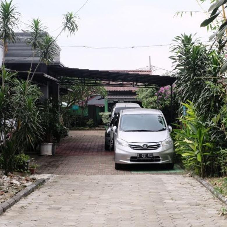 Rumah Dengan Tanah Luas Asri Di Pondok Kacang Timur Tangerang
