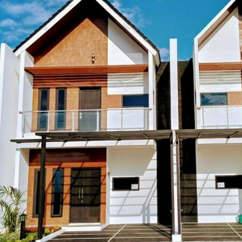 Rumah cantik dalam cluster bebas banjir