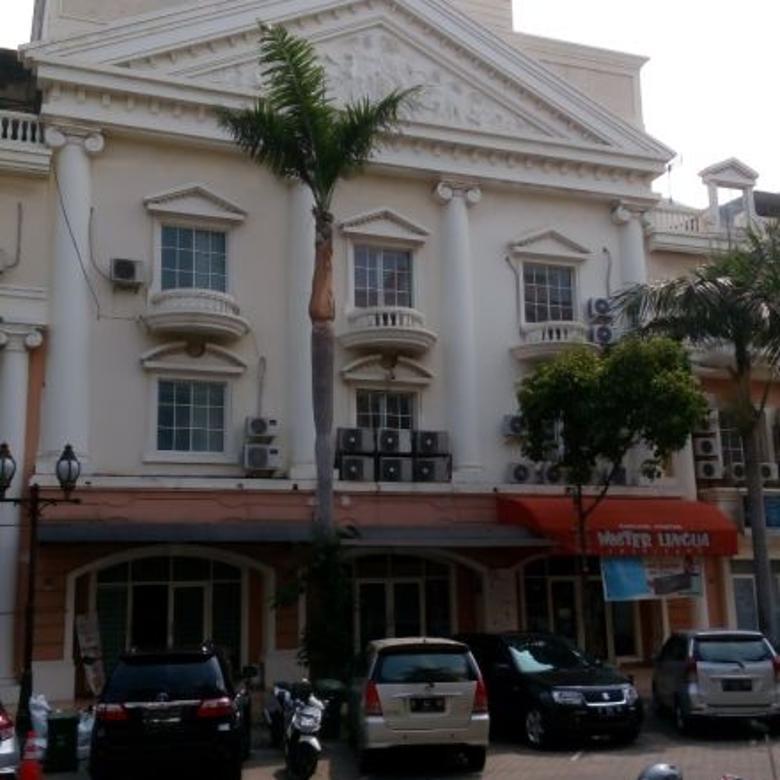 Dijual Murah Ruko Bukit Golf Medit PIK , Pantai Indah Kapuk
