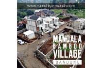 Rumah dengan View Lembah Hijau di Bandung 300 Jutaan | MANDALA BAMBOO VILLA