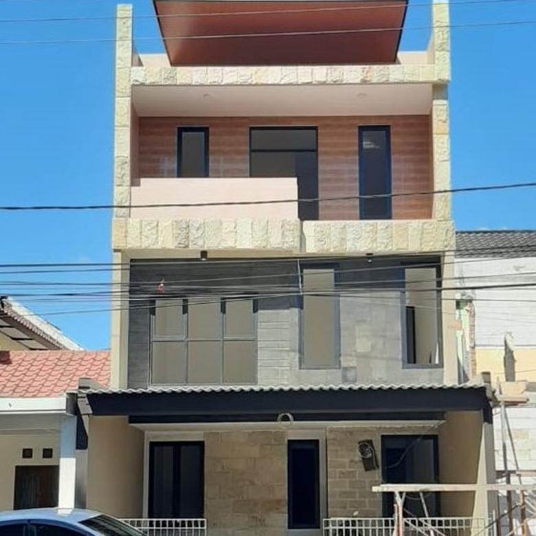 (WD).Rumah Baru Gress Babatan Pratama J Bangunan Baru