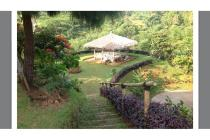 Villa dgn halaman luas view gunung di Cisarua Bogor