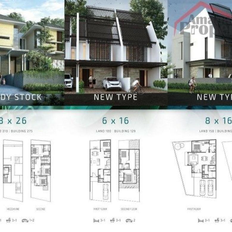 Dijual Rumah Cluster Indent di Cipete Selatan Jakarta