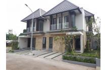 Rumah Cluster Mewah Desain Modern Cantik, Cililitan, Jakarta Timur