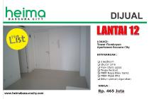 Bassura City Tower Flamboyan 2Bed Lt.12 Nego Sampai Puas