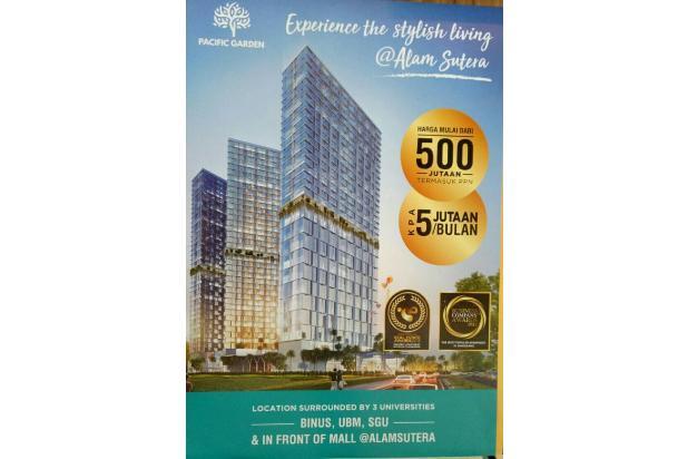 Rp621jt Apartemen Dijual