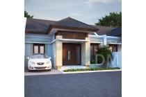 Rumah minimalis baru di jongke dalam proses bangun, lingkungan asri