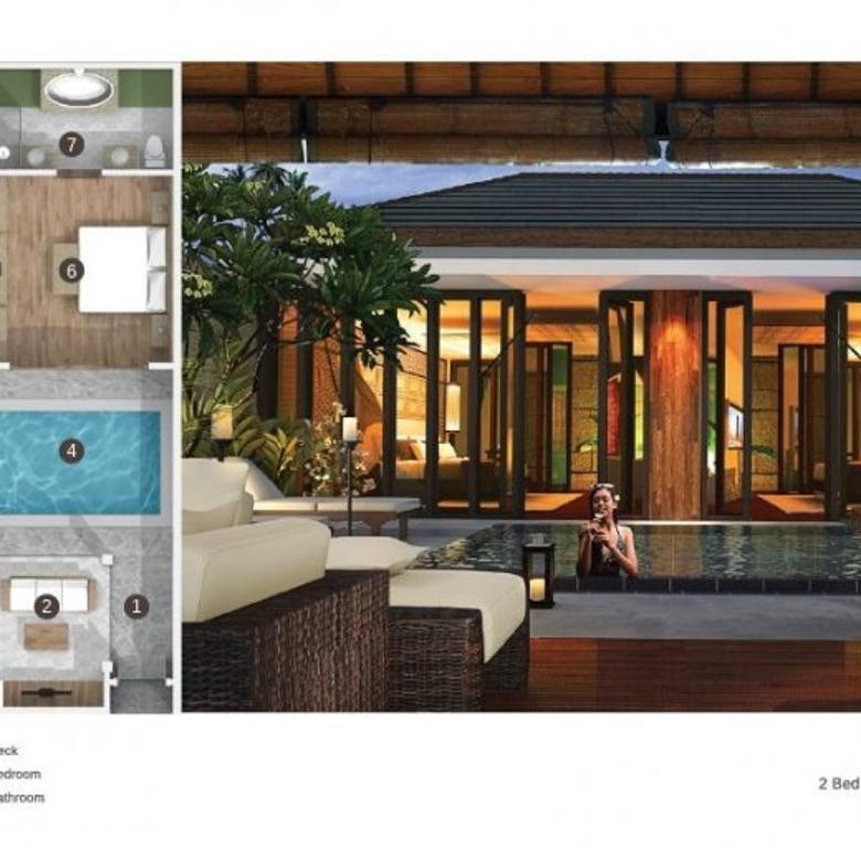 Dijual Villa Tipe 2 BR FF Adaya Balangan, Jimbaran, Bali