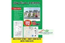 Rumah baru dijual perum Griya Azzahra pakansari cibinong bogor, HKS1039