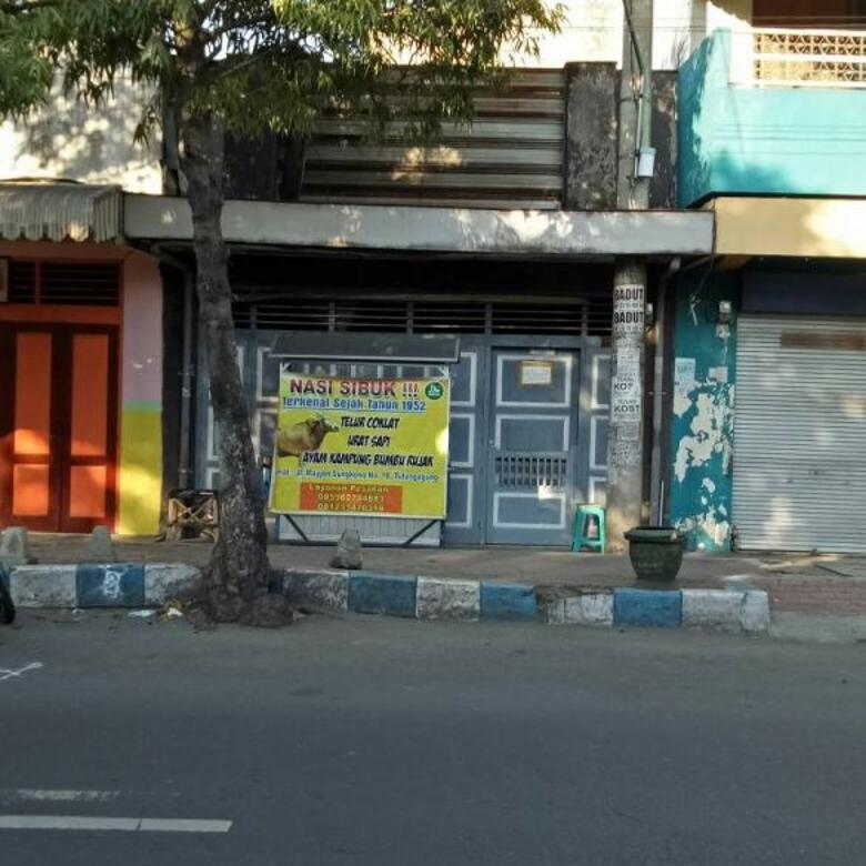 Dijual Ruko Strategis di Jl Mayjen Sungkono Tulungagung