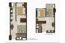 Exclusive Apartment Podomoro City Deli Medan Type 1Bedroom
