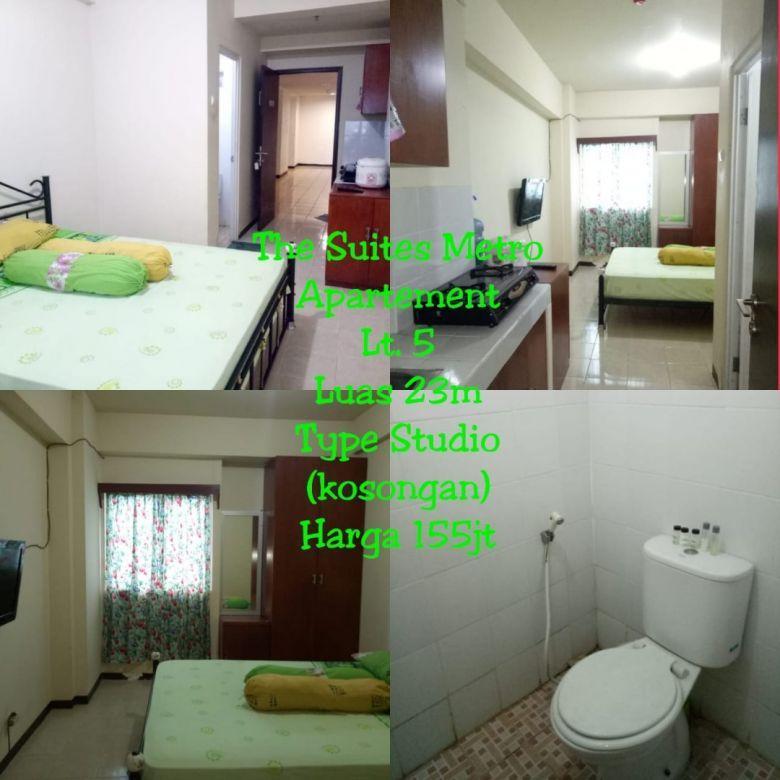 STUDIO  - The Suite Metro Apartemen Bandung
