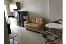 Madison Park 2 BR Luas 50 m2 Furnished Lantai 19 Jakarta Barat 60 Juta/Thn