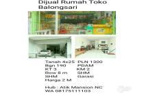 Dijual Rumah Toko