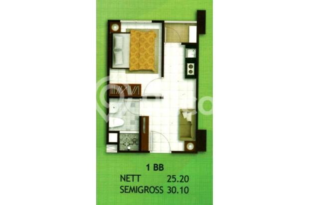 Apartemen Madison Park Unit 1 BR FULL FURNISH tahunan Jakarta Barat 16521366