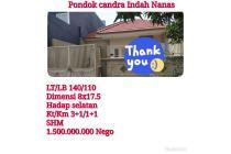 Rumah Pondok Tjandra Indah Sidoarjo dekat Surabaya Nego
