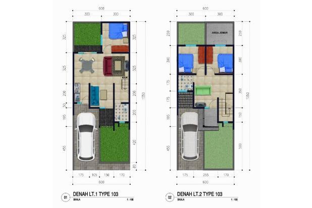 Rp804jt Rumah Dijual