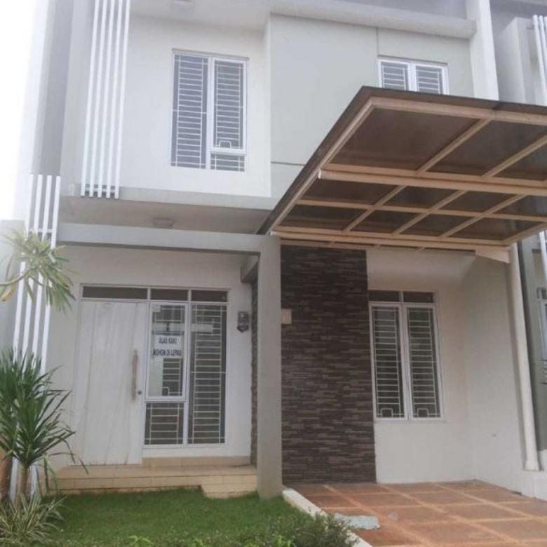Dijual Rumah Cluster 2 Lantai di Serpong Natura City Tangerang Selatan