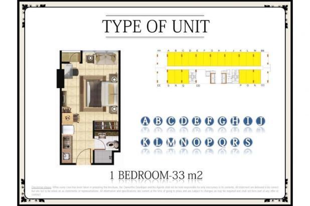 Dijual Segera Apartemen Menteng Park Tower Sapphire Studio Furnished 6323946