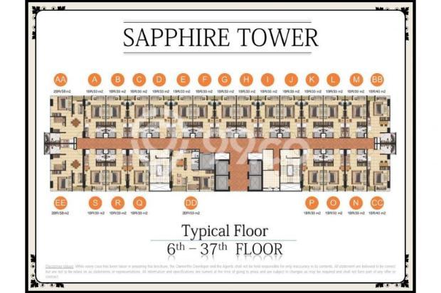 Dijual Segera Apartemen Menteng Park Tower Sapphire Studio Furnished 6323949