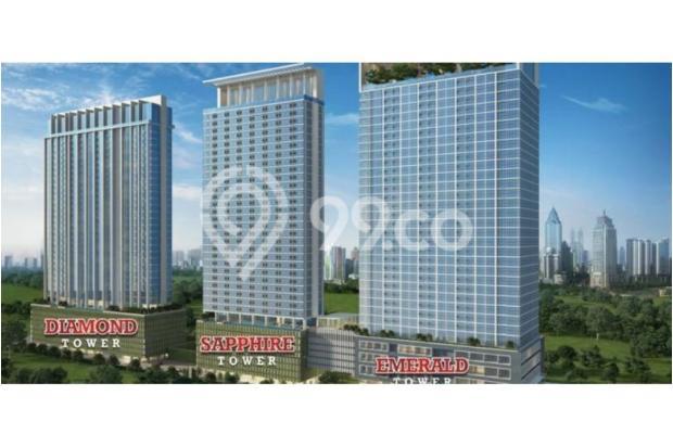 Dijual Segera Apartemen Menteng Park Tower Sapphire Studio Furnished 6323958
