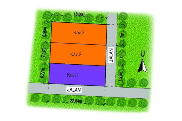 Kavling Tamanmartani: Luas Standard Perumahan, Legalitas SHM 13308298