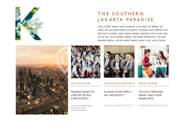 Dijual Apartemen Strategis Nyaman di Kasamara Pondok Indah  Jakarta Selatan 16510493