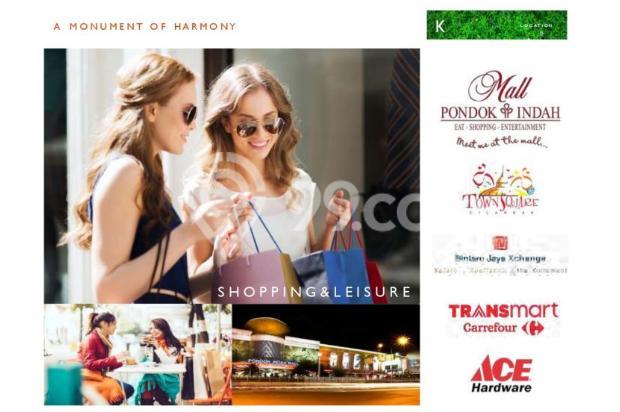 Dijual Apartemen Strategis Nyaman di Kasamara Pondok Indah  Jakarta Selatan 16510501