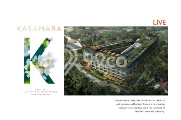 Dijual Apartemen Strategis Nyaman di Kasamara Pondok Indah  Jakarta Selatan 16510505