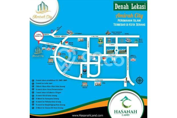 Cari Perumahan Tanpa Riba Dijual di Serang Amirah City 13696779