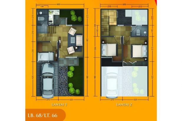 Rp751jt Rumah Dijual