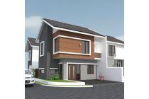 rumah hook di GR graha raya, rumah baru 2 lantai, brand new