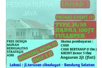 Jual rumah fullspek free design di Pesona Putra Jaya