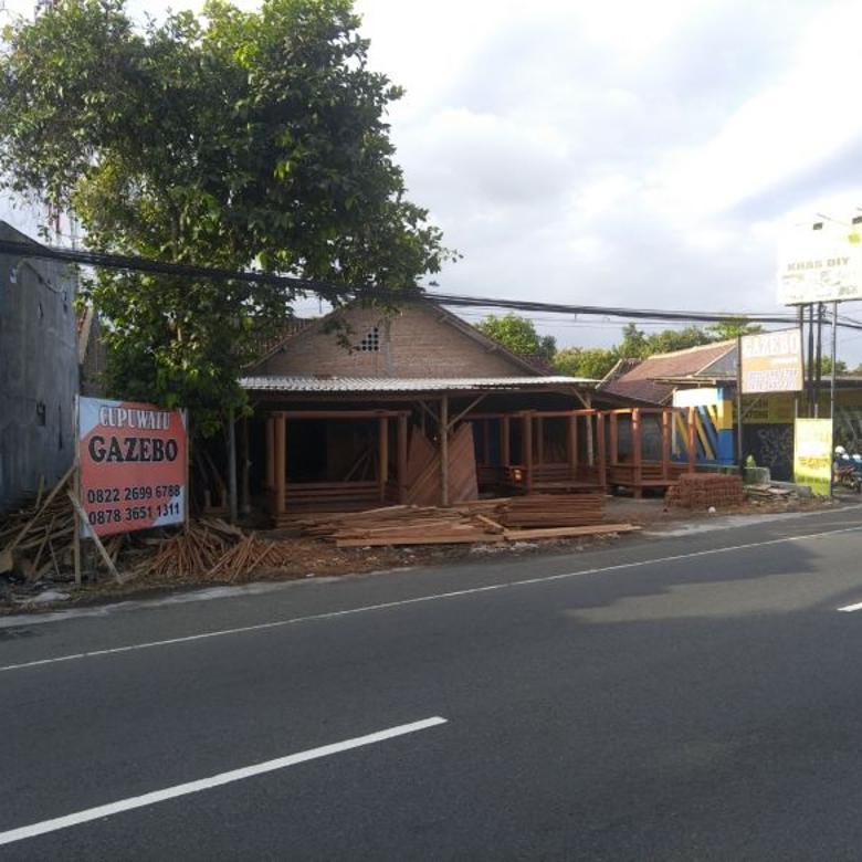 (RI) Tanah Pekarangan Bonus Rumah JL Ngaglik Cupuwatu I Sleman