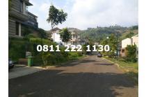 Tanah Ngantong Lebar Muka 14 m, Dago Pakar Resort, View Lembah
