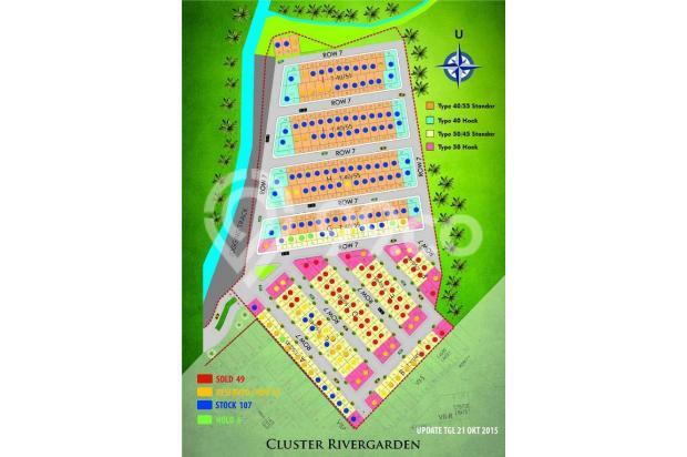 rumah karawang barat 2 lantai dp 10 juta all in 15833234