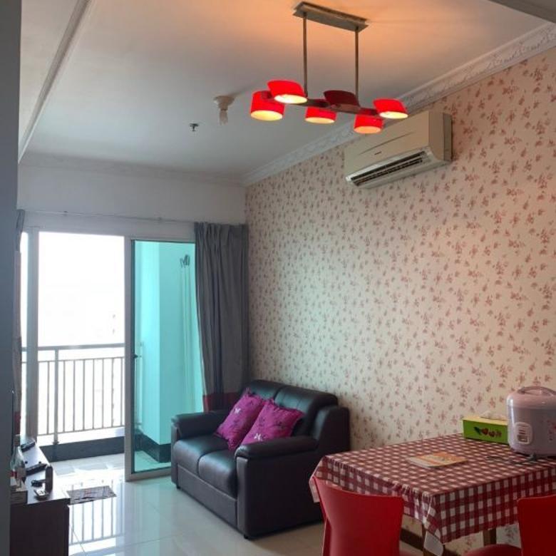 DiSewakan Condominium 1BR Furnish View City Lantai rendah