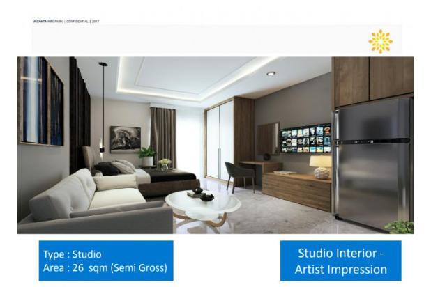Apartemen Baru Vasanta Innopark MM2100 Cibitung Harga Mulai 279Jtan 17996625