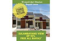 Rumah  3 Kamar Tidur 500 jutaan dekat Grand Depok City