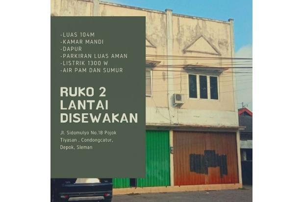 Rp35jt/thn Ruko Disewa
