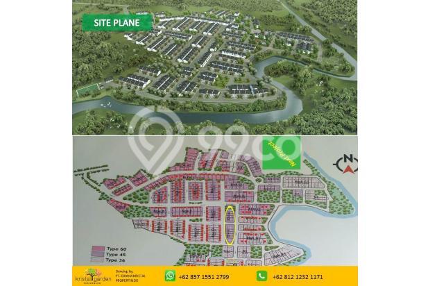 Rumah 2 lantai DP Ringan Free KPR Kristal Garden Cibinong dekat Stasiun 15146423