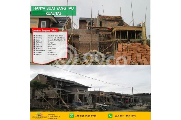 Rumah 2 lantai DP Ringan Free KPR Kristal Garden Cibinong dekat Stasiun 15146433